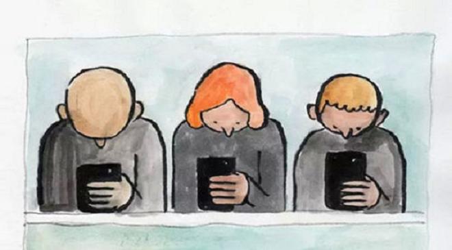 去年中国人在APP上花了404亿美元,走路吃饭都在玩手机