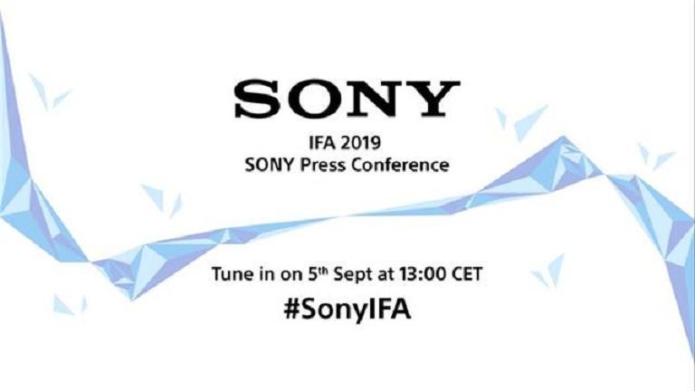索尼或将在IFA 2019上发布大量新品
