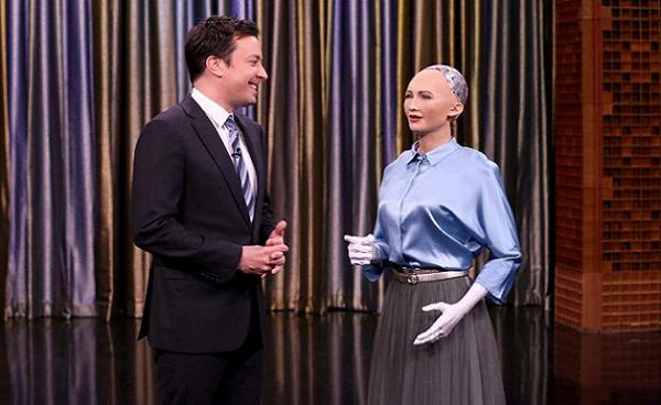 """""""索菲亚""""即将量产,人形机器人能与我们和平共处吗?-最极客"""