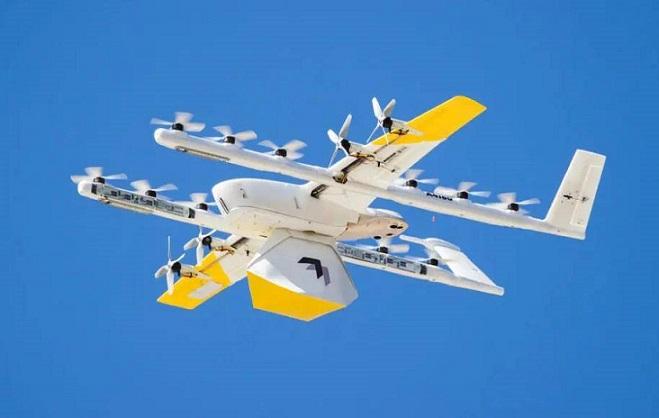 谷歌旗下快递无人机被投诉噪音扰民,过去两年送了数千单