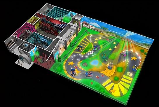 AR卡丁车竞速游戏《Chaos Karts》即将上市