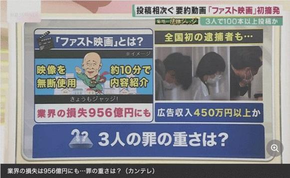日本逮捕电影解说侵权者,中国也会这样吗?